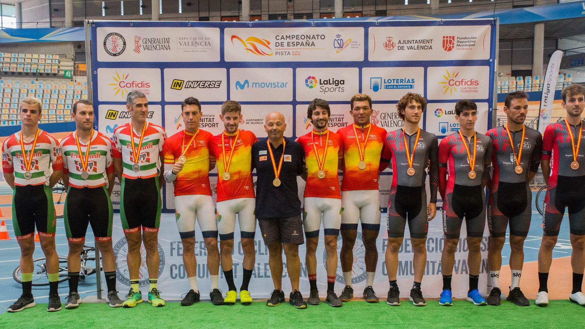 Albert Torres reina en el Campeonato de España de Pista 2019
