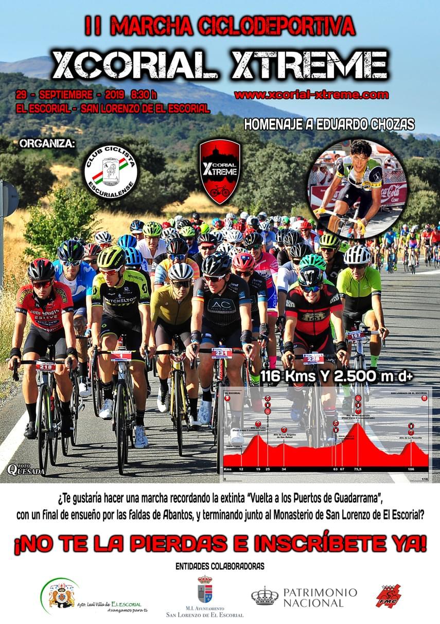 Este domingo cita la II Marcha Ciclodeportiva Xcorial Xtreme
