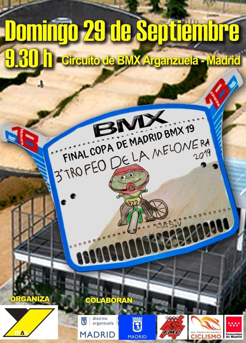 El distrito de Arganzuela, punto y final este domingo a la Copa de Madrid de BMX