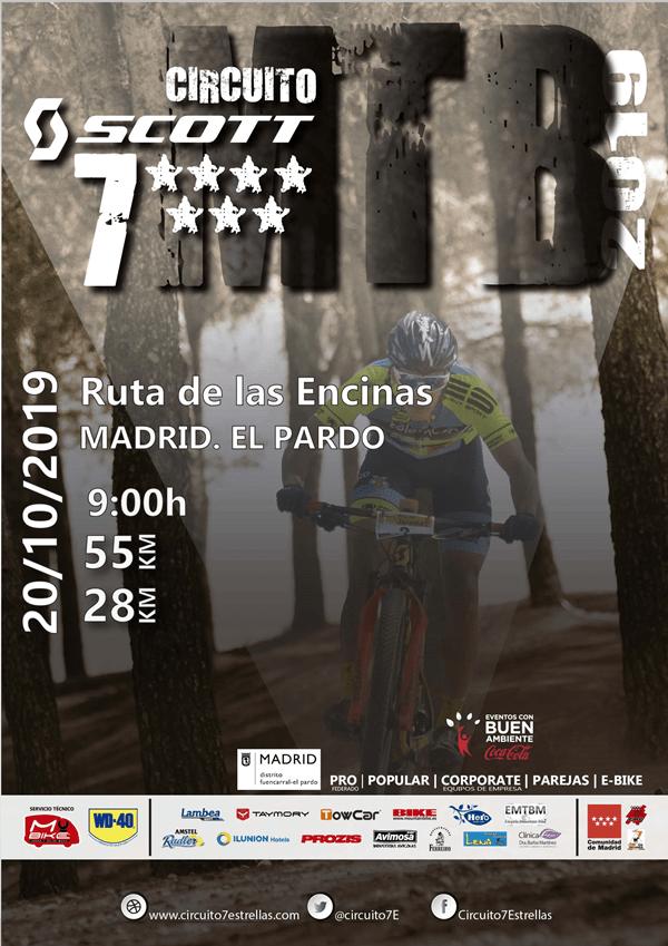 El mejor BTT llega a Madrid con la Ruta de las Encinas