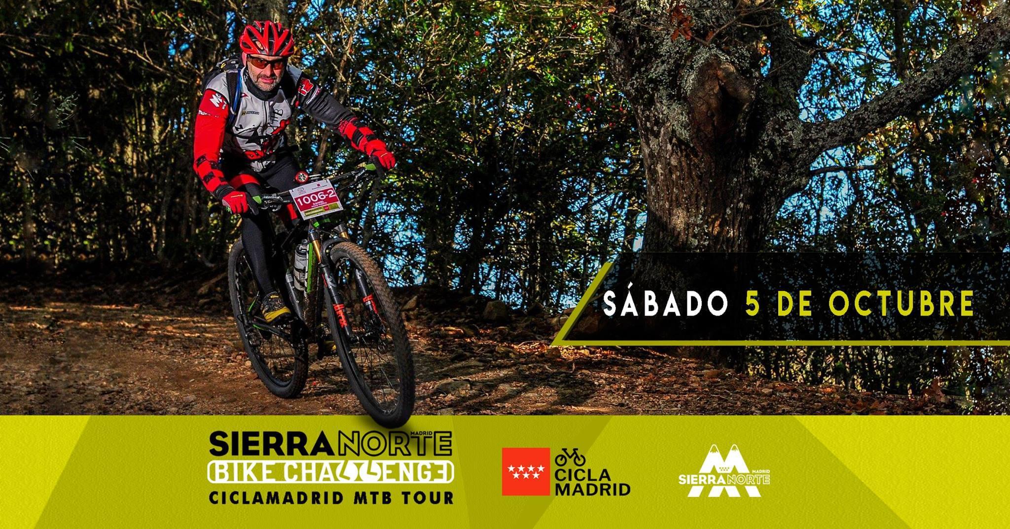 Lozoya Acoge Este 5 De Octubre La Iv Sierra Norte Bike Challenge Ciclamadrid Mtb Tour
