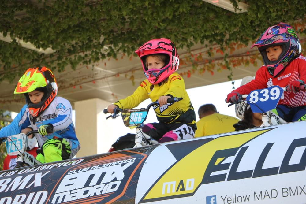 Se puso colofón a la Copa de Madrid de BMX en el barrio de Arganzuela