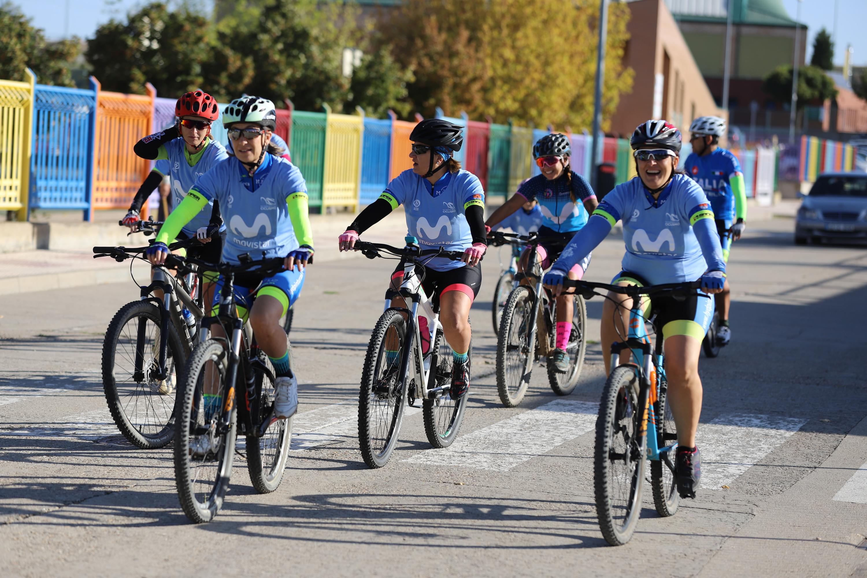 Women In Bike inunda de ciclismo femenino Carbajosa de la Sagrada