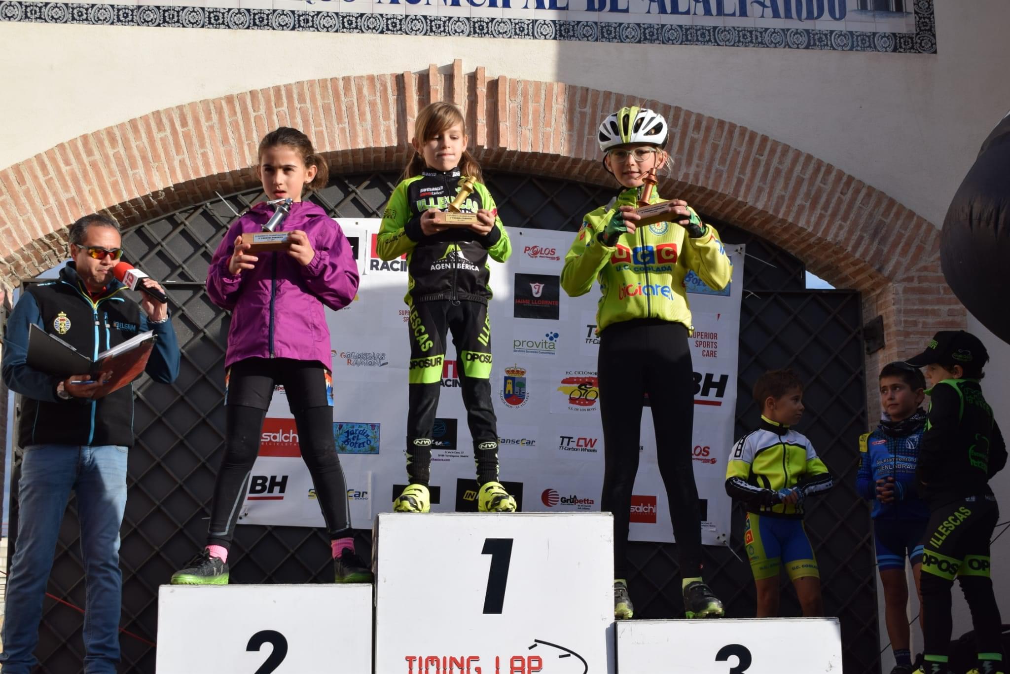 Aida Nuño y Aitor Hernández, victorias de prestigio en el tradicional ciclocross de la Peña Ciclista Ciclonorte