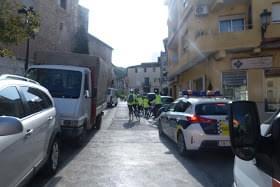 La Federación de ciclismo se ha traslado a Enguera por un día.