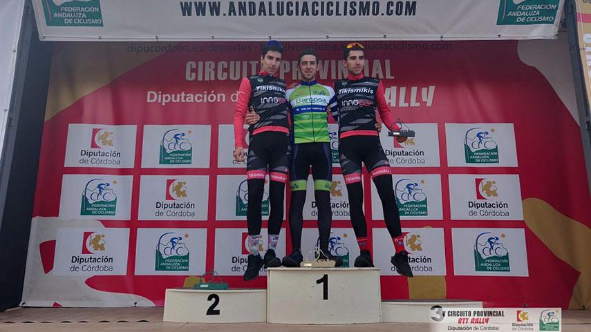 Marta-Bejarano-y-Julian-Robles-inauguran-en-Belmez-el-V-Circuito-Diputacion-de-Cordoba-BTT-Rally