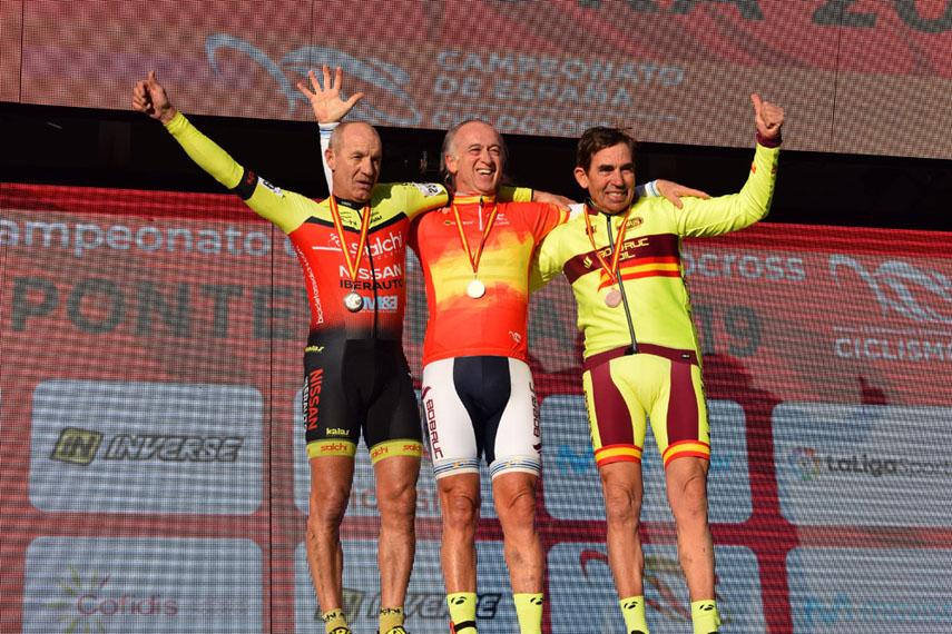 Sobre la asistencia a los máster en los Campeonatos de España de ciclocross
