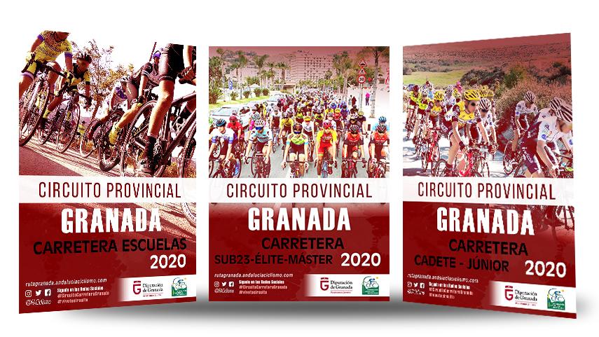 Fechas-de-los-Circuitos-Provinciales-de-Granada-de-Ciclismo-en-Carretera-2020-