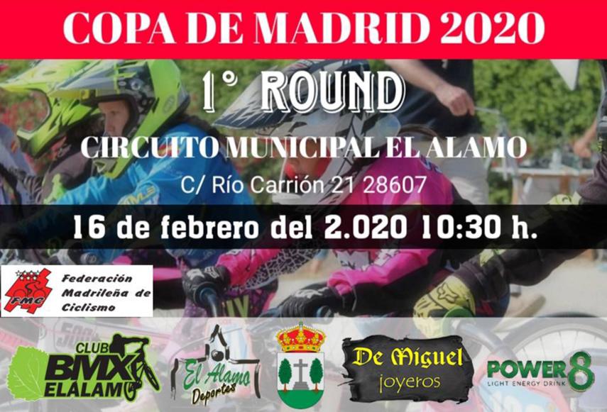 El 16 de Febrero, pistoletazo de salida de la Copa de Madrid de BMX