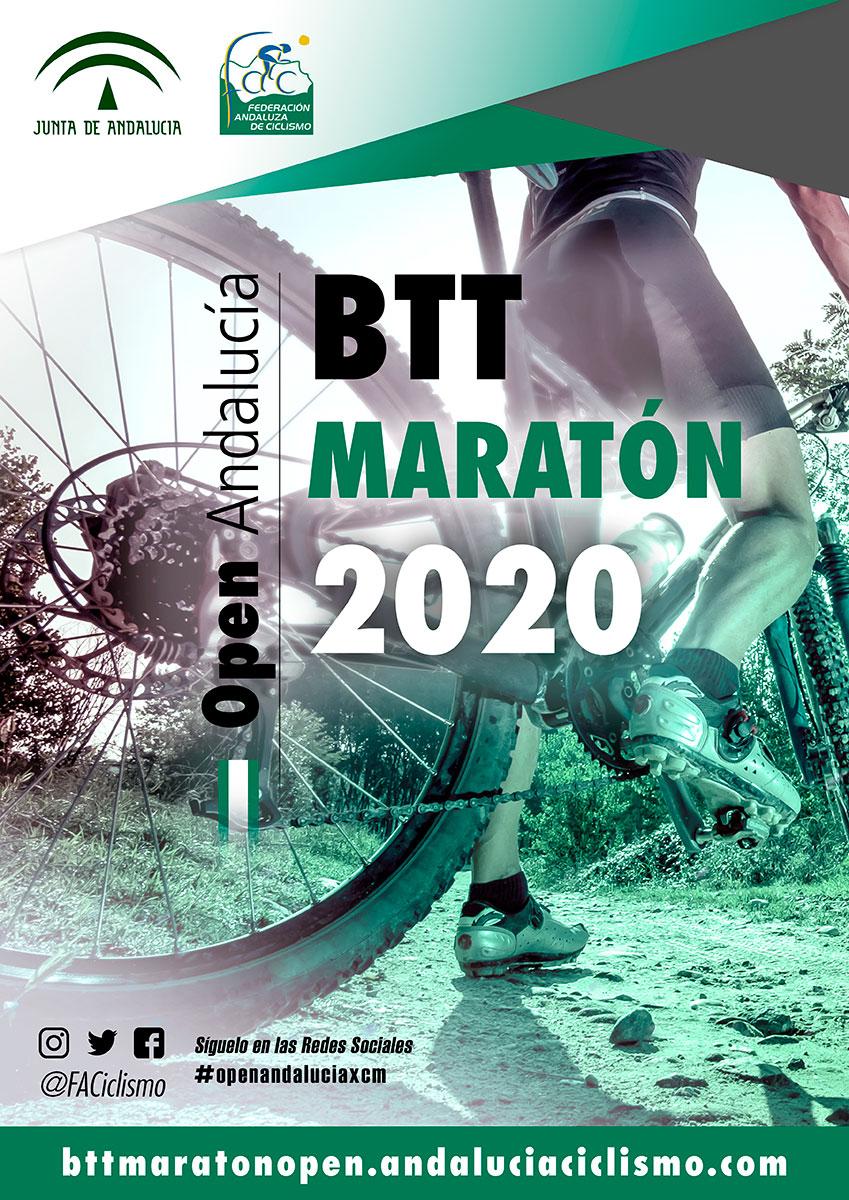 El Open Andalucía BTT Maratón 2020 se estrenará en La Luisiana