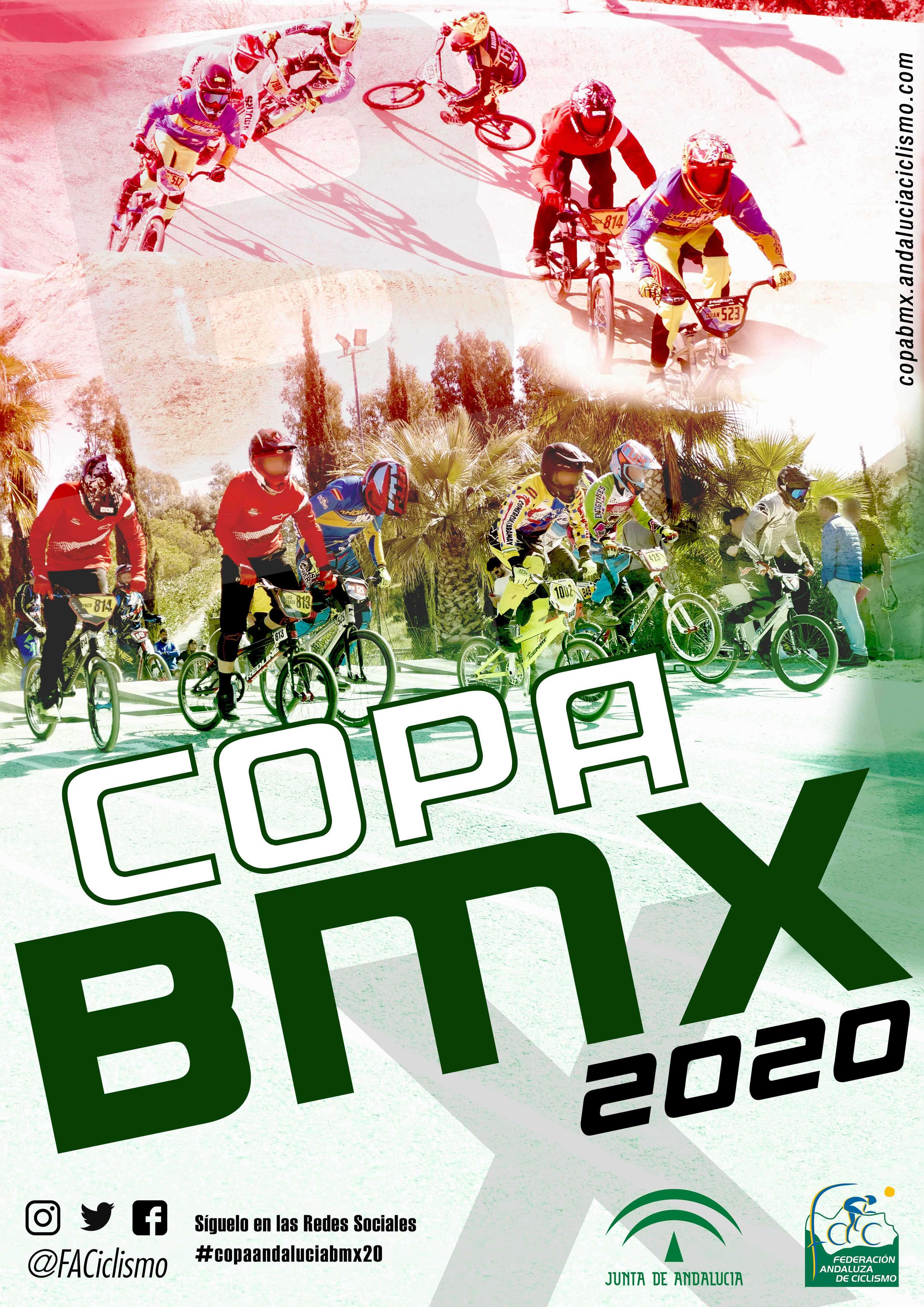 Fechas de la Copa Andalucía BMX 2020