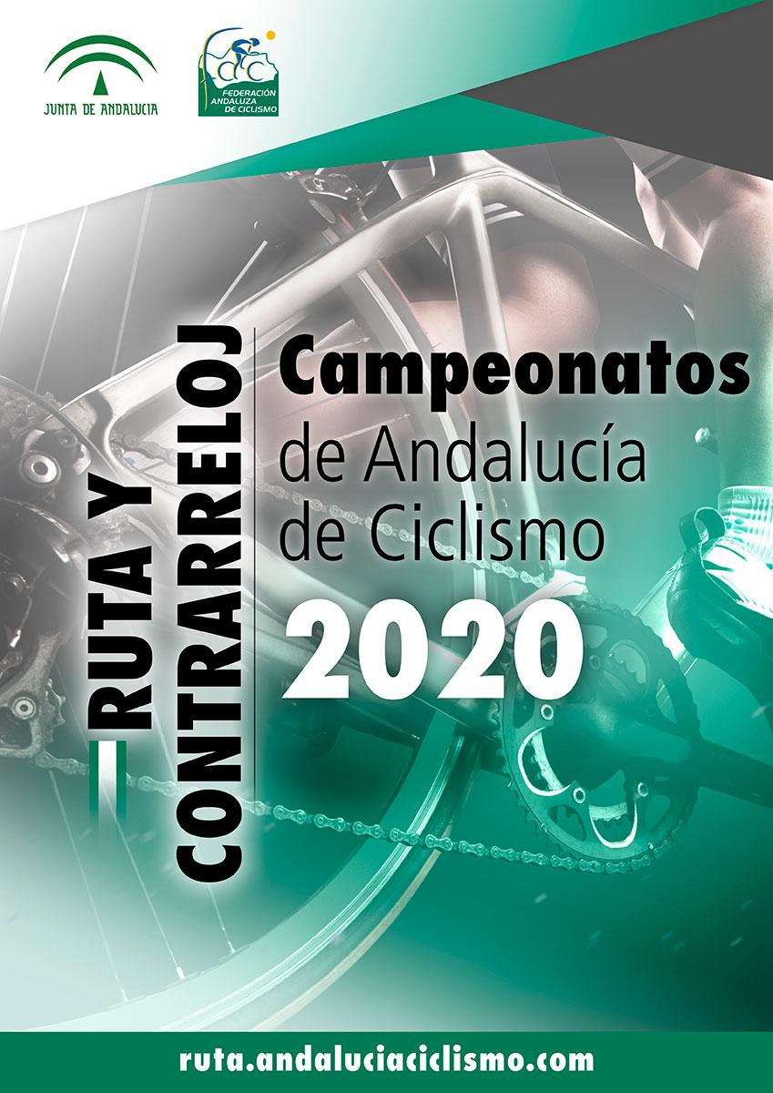 Fechas de los Campeonatos de Andalucía Contrarreloj y Ruta 2020