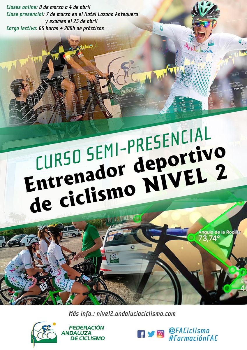 Abierta convocatoria para el Curso de Entrenador Deportivo de Ciclismo Nivel 2
