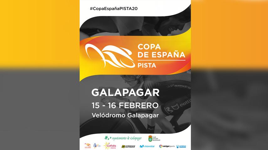 Galapagar, sede del Campeonato de España de Madison y la cita final de Copa de España de Pista 2020