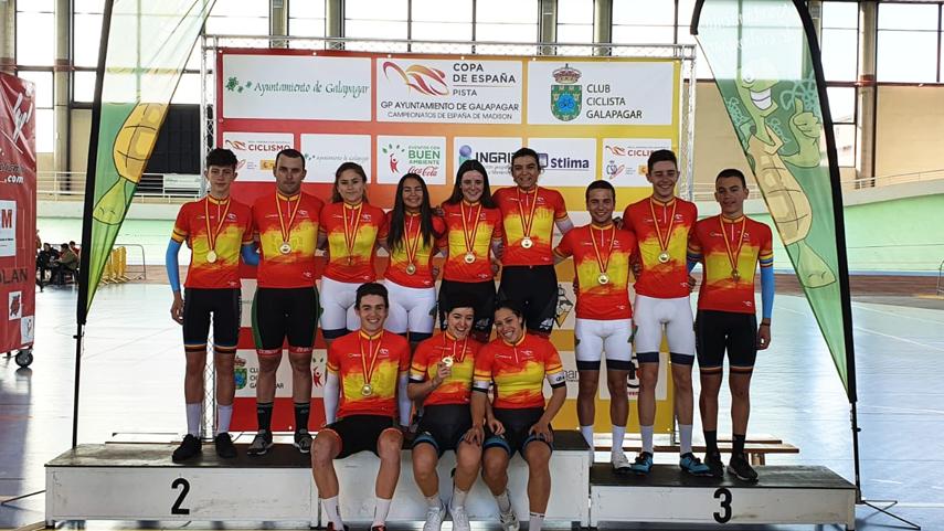 Zuazubiskar-Azparren-y-Calvo-Larrarte-campeones-de-Espana-de-Madison-2020