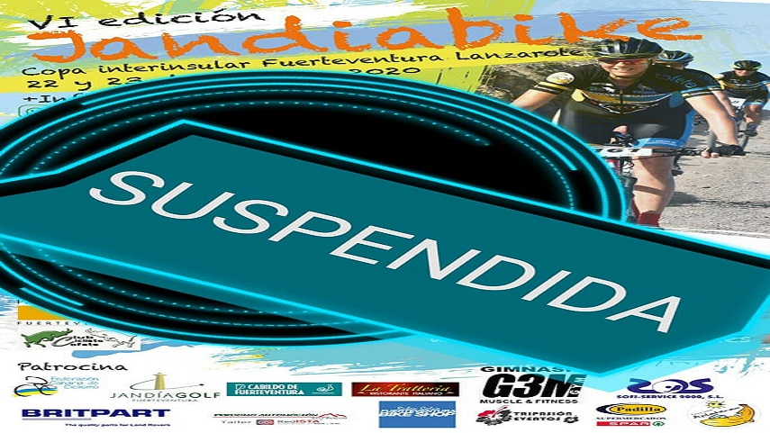 SUPENDIDA La JandiaBike el 22 y 23 de febrero