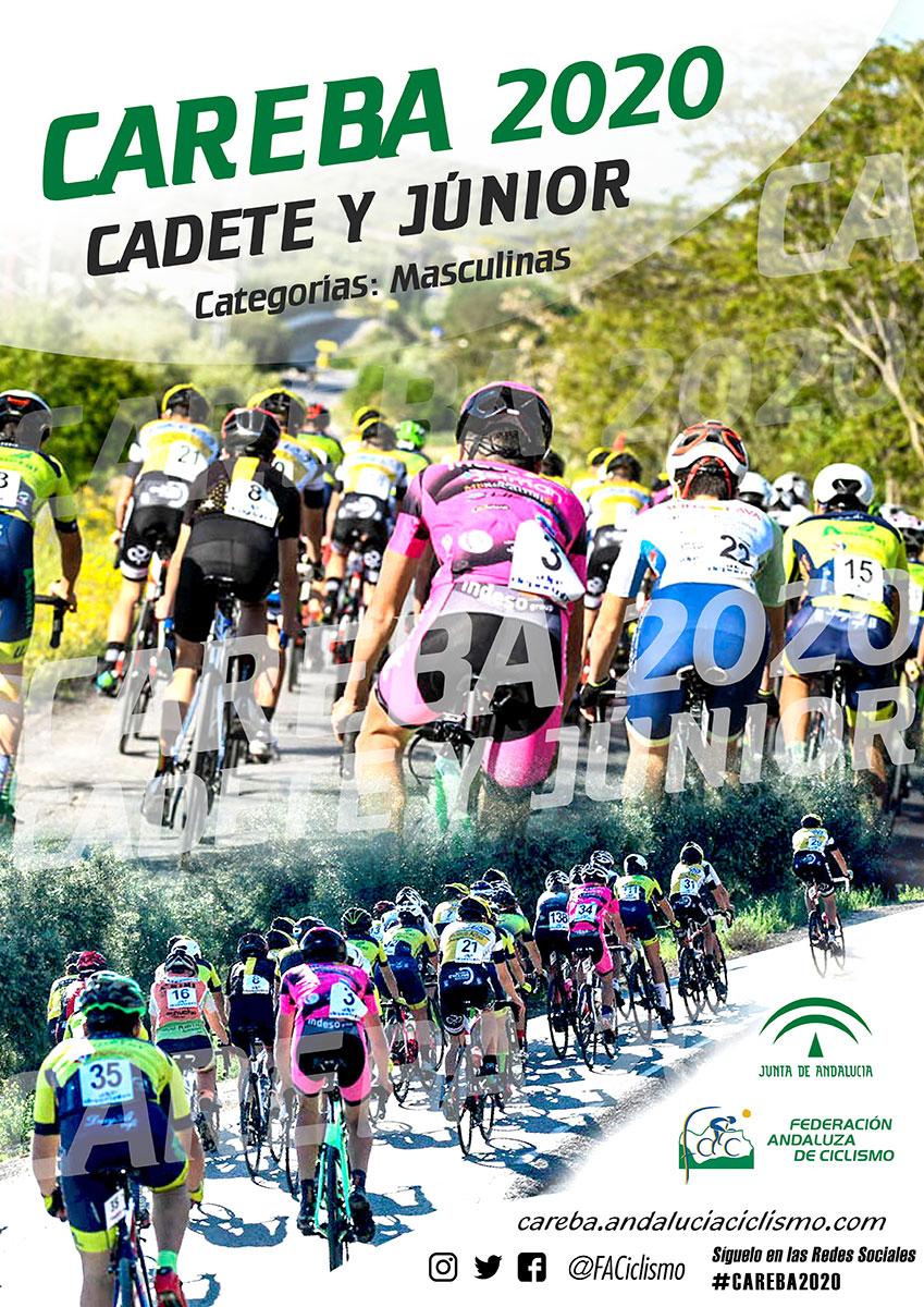 Fechas Copa Andalucía, CAREBA Cadete-Junior y Ranking Andaluz de Carretera 2020