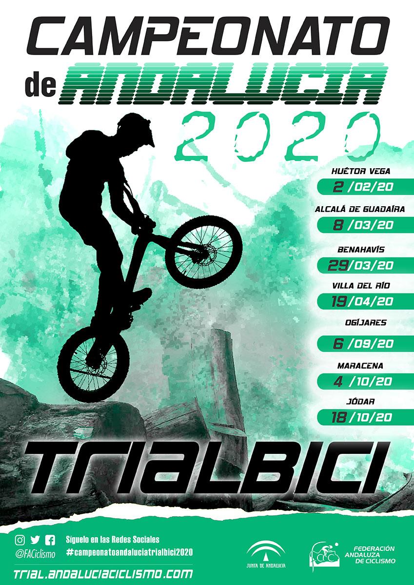 El Campeonato Andalucía Trialbici 2020 pone rumbo hacia tierras sevillanas