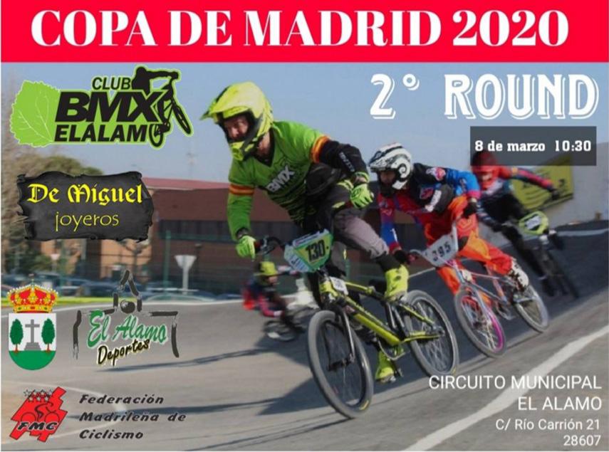 El Álamo repite como sede para la segunda puntuable de la Copa de Madrid de BMX