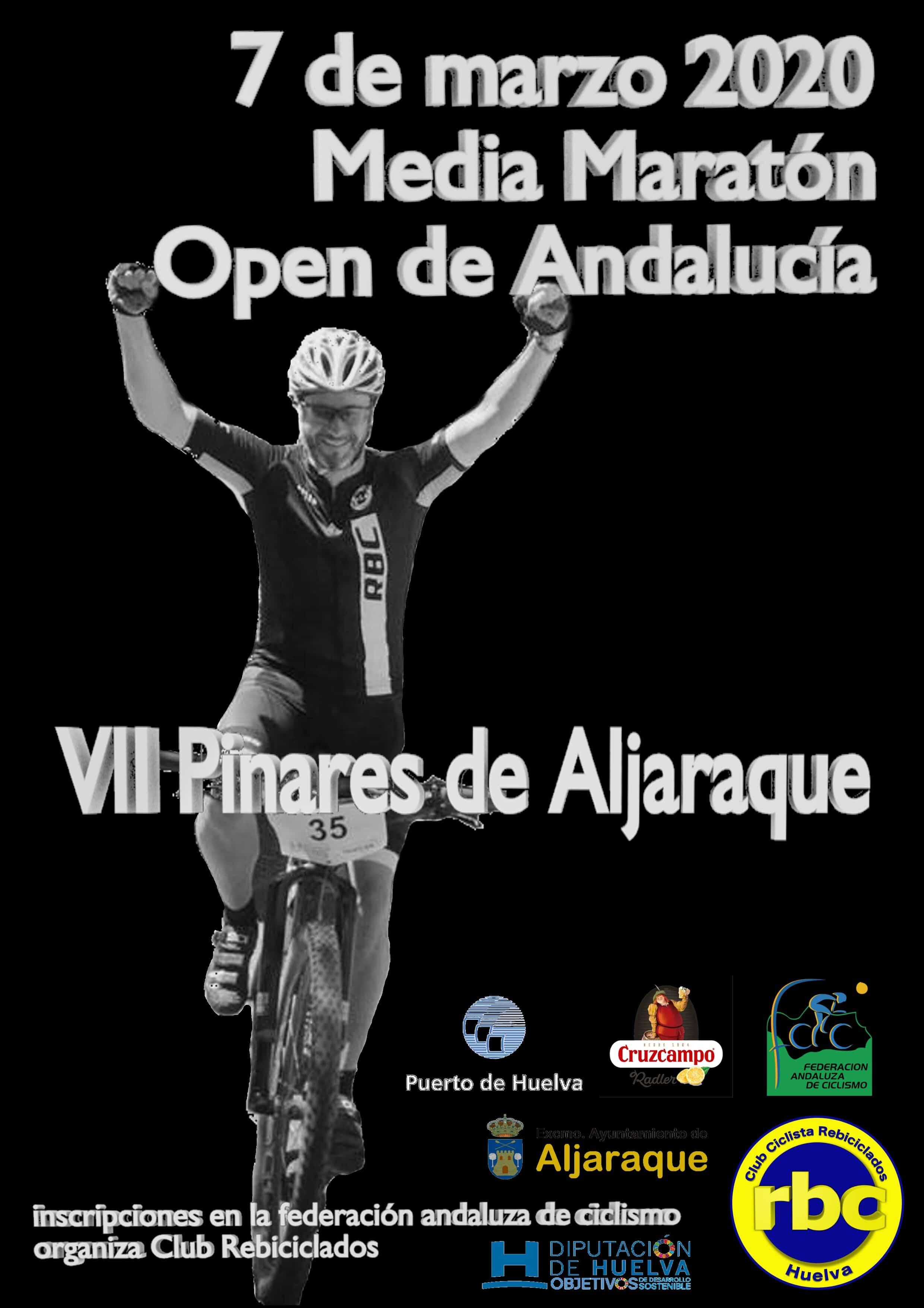 Aljaraque se prepara para abrir el Open Andalucía BTT Media Maratón 2020