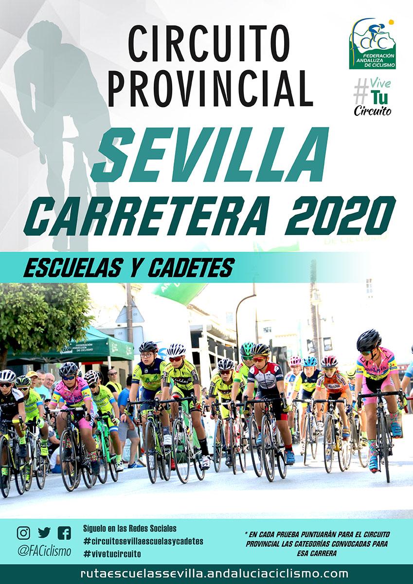 Fechas de los Circuitos Provinciales de Sevilla Carretera 2020