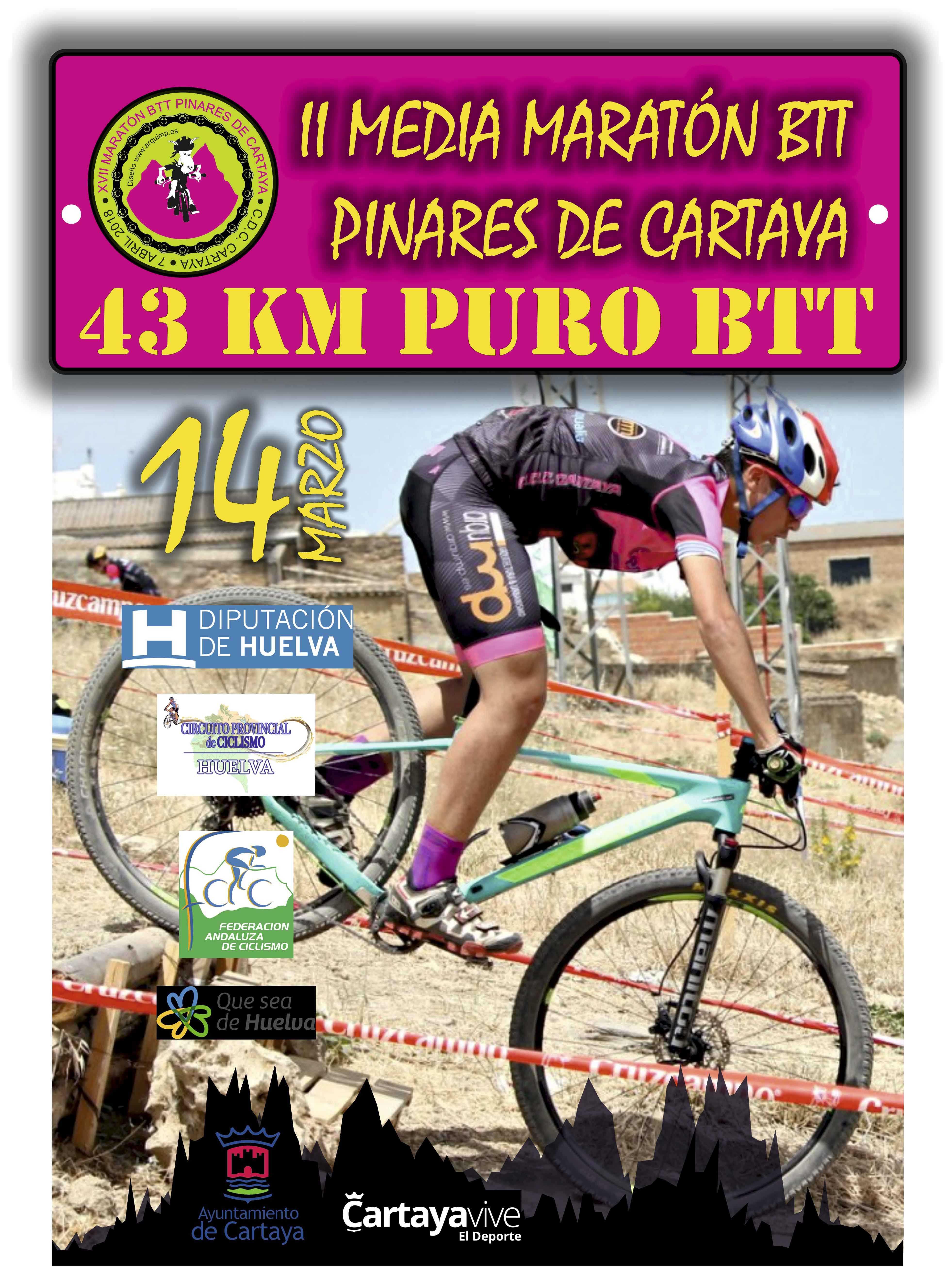 Las Huelva XCMM Series 2020 se estrenarán en Cartaya