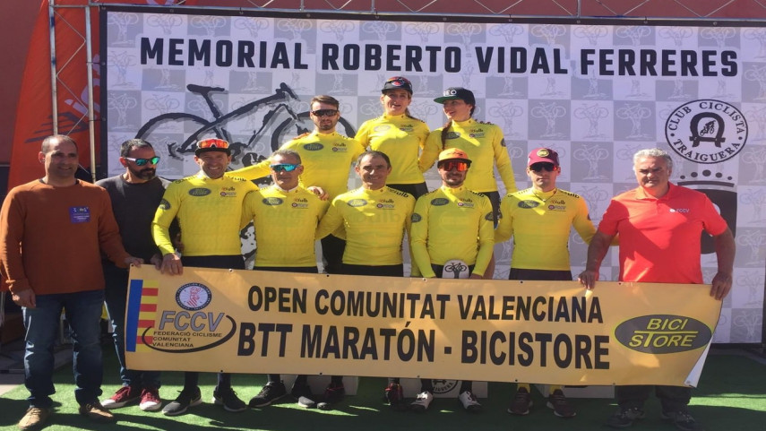 Ivan-Diaz-y-Ariadna-Rodenas-se-imponen-en-la-segunda-cita-del-Open-BTT-Maraton-a��-Bici-Store-en-Traiguera
