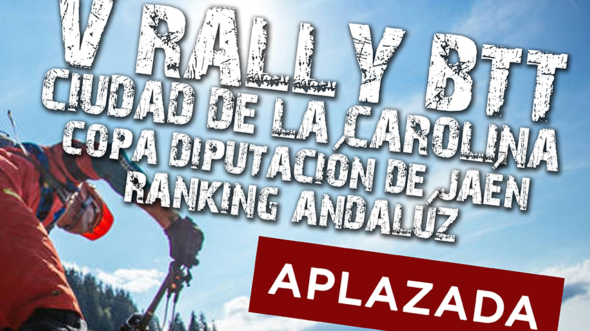 Aplazado-el-V-Rally-BTT-Ciudad-de-La-Carolina