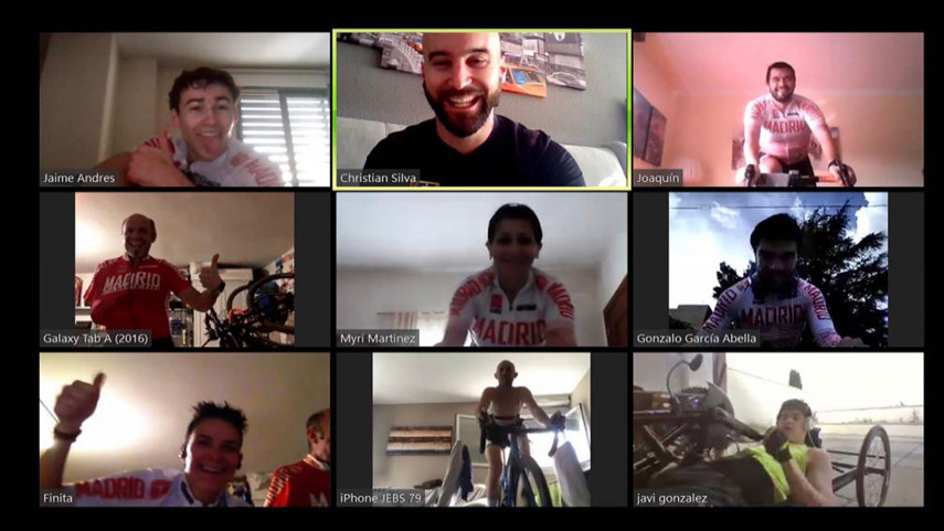 Nueva-sesion-de-entrenamiento-online-para-el-Ciclismo-Adaptado-madrileno