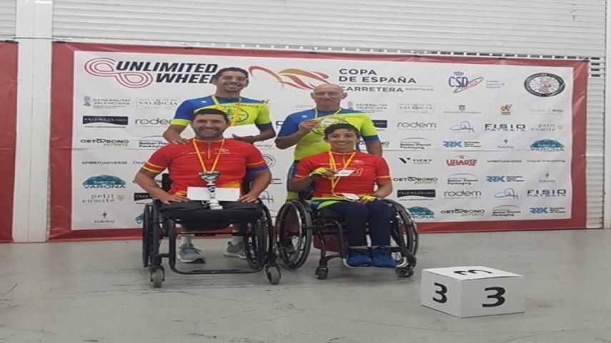 Triunfo-parcial-para-Luis-arcega-e-Mila-Lopez-sentenza-a-Copa-de-Espana-de-Ciclismo-Adaptado-en-Cheste-