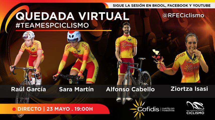 La-RFEC-Y-SUS-FFAA-organiza-la-1-quedada-virtual-con-el-#TeamESPciclismo