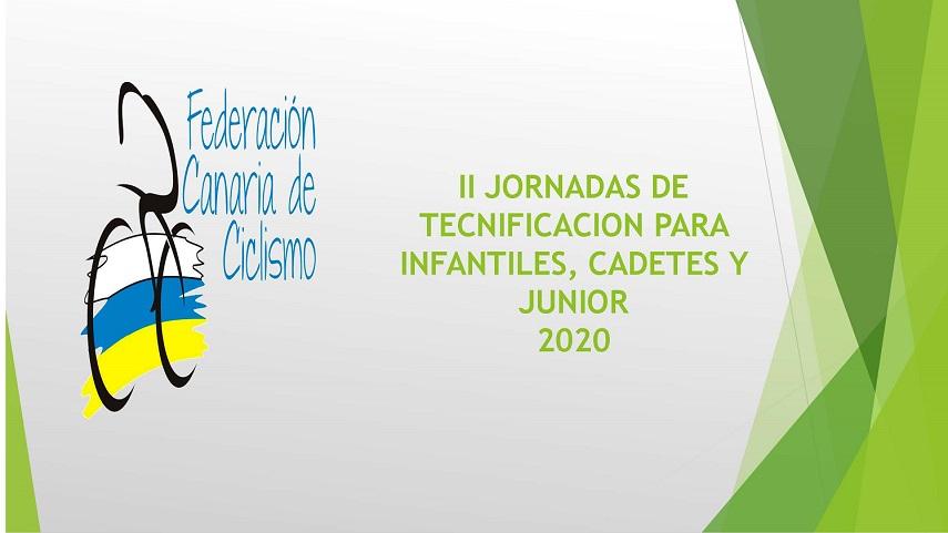 II Jornadas de Tecnificación para Infantil,Cadetes y Junior, el proximo jueves 25 de junio