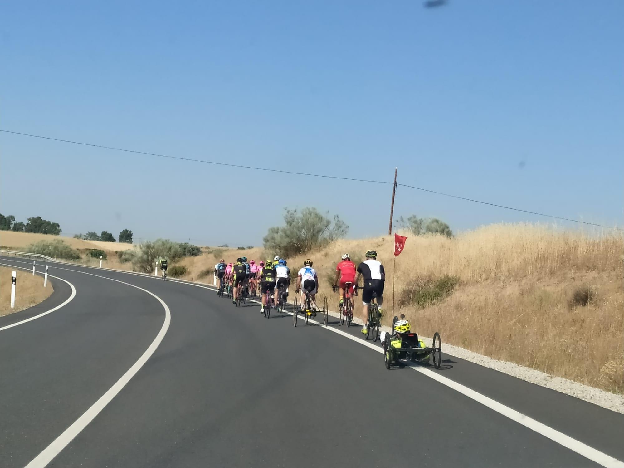 Sevilla La Nueva acogió el primer entrenamiento inclusivo post-confinamiento