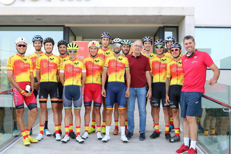 Concluye con gran éxito la concentración de la Selección Española de Ciclismo en Altea