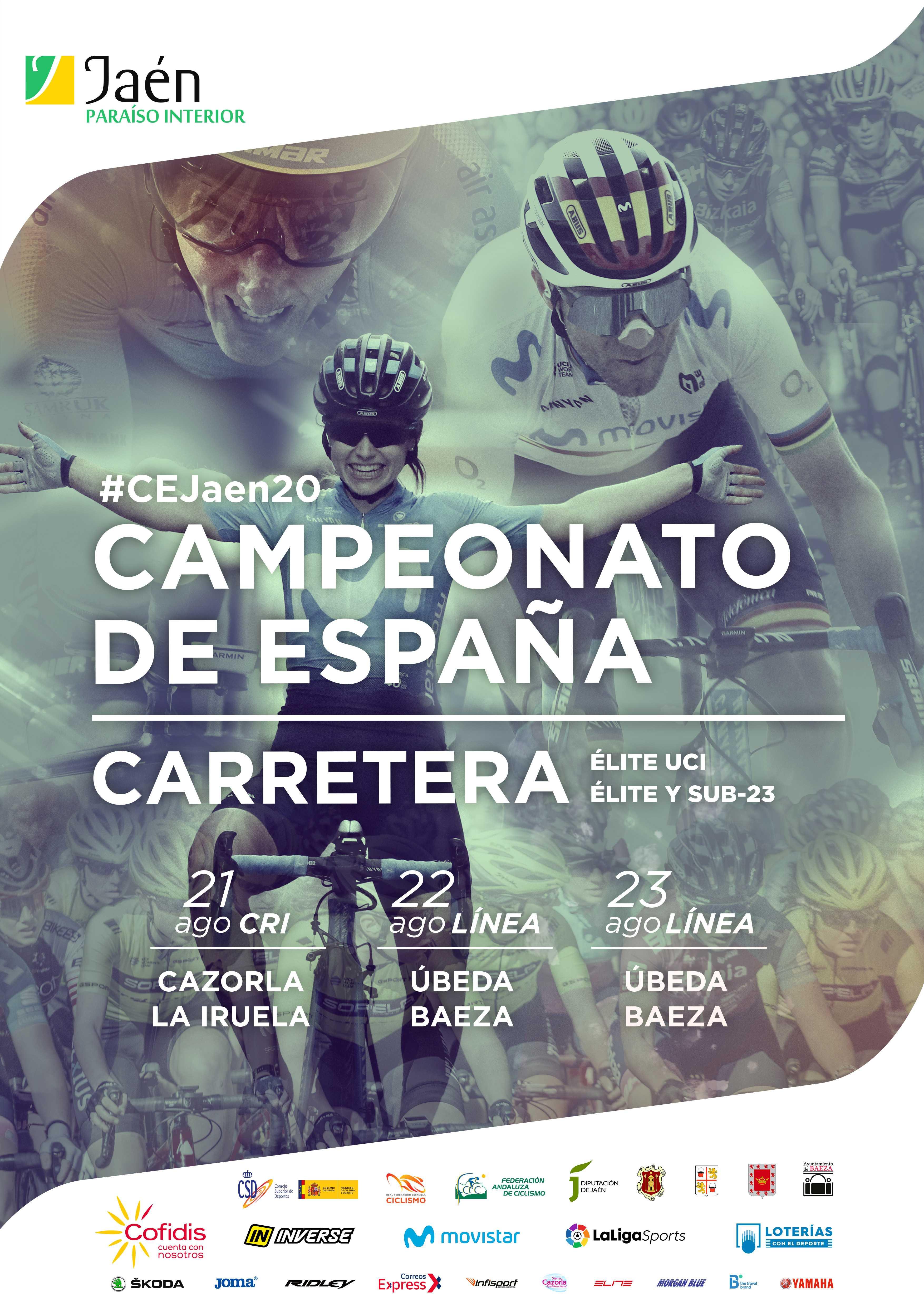 Convocatoria Selección Andaluza Sub23 de carretera para el Campeonato de España 2020