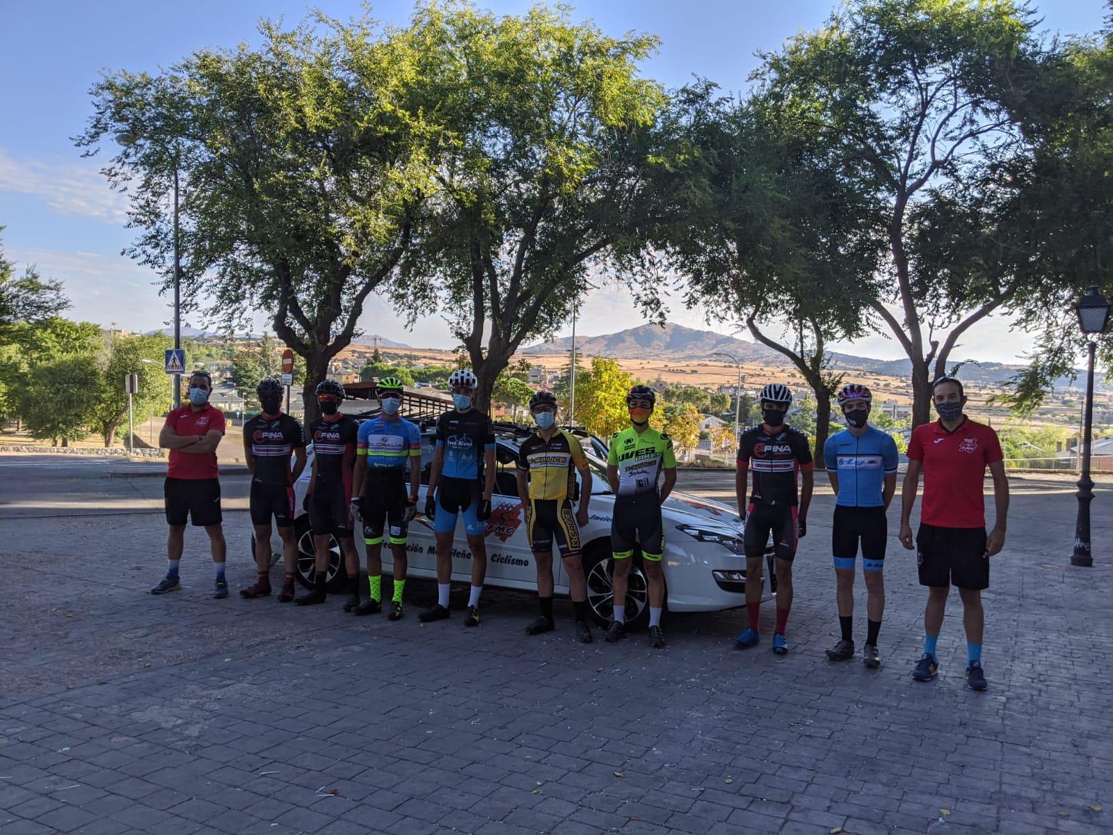 Sesión de trabajo de la Selección Madrileña de XCO en Miraflores de la Sierra