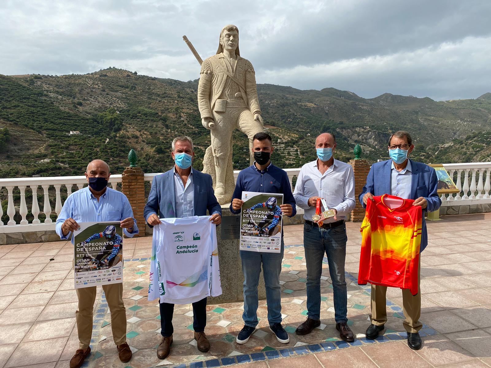 Presentación del Campeonato de España y de Andalucía de BTT Descenso 2020