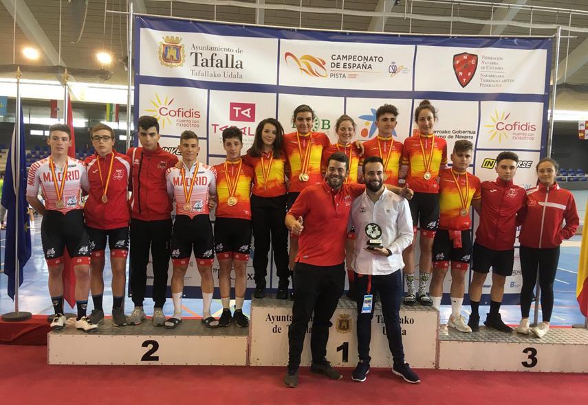 Lista de convocados de la Selección Madrileña de pista para los Campeonatos de España