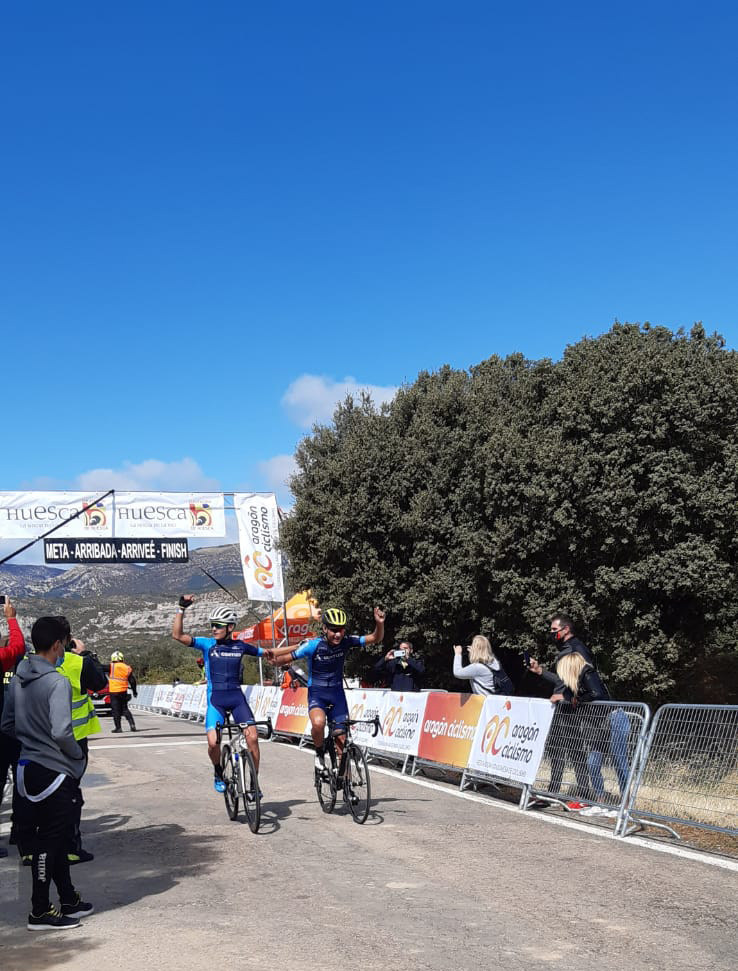 Gran éxito en la primera cita de los Campeonatos de Aragón Ruta 2020