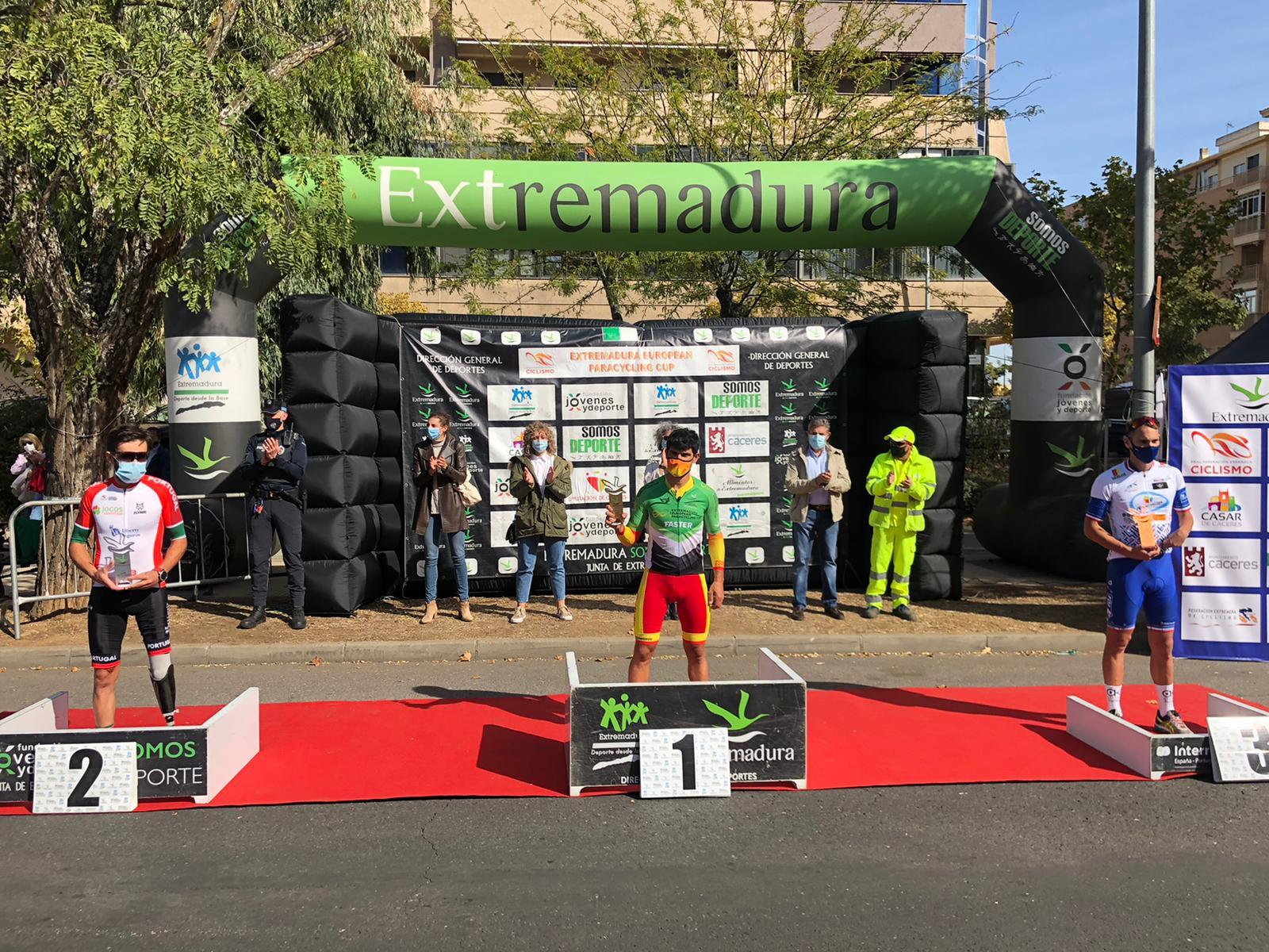 La Selección Española cierra con gran éxito la Extremadura European Paracycling Cup