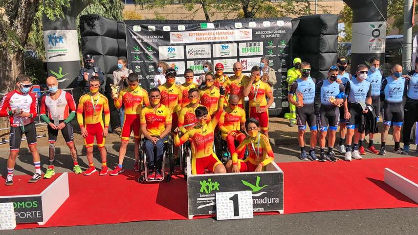 La-Seleccion-Espanola-cierra-con-gran-exito-la-Extremadura-European-Paracycling-Cup