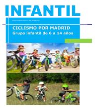 El programa Ciclismo por Madrid, también para los más pequeños y pequeñas