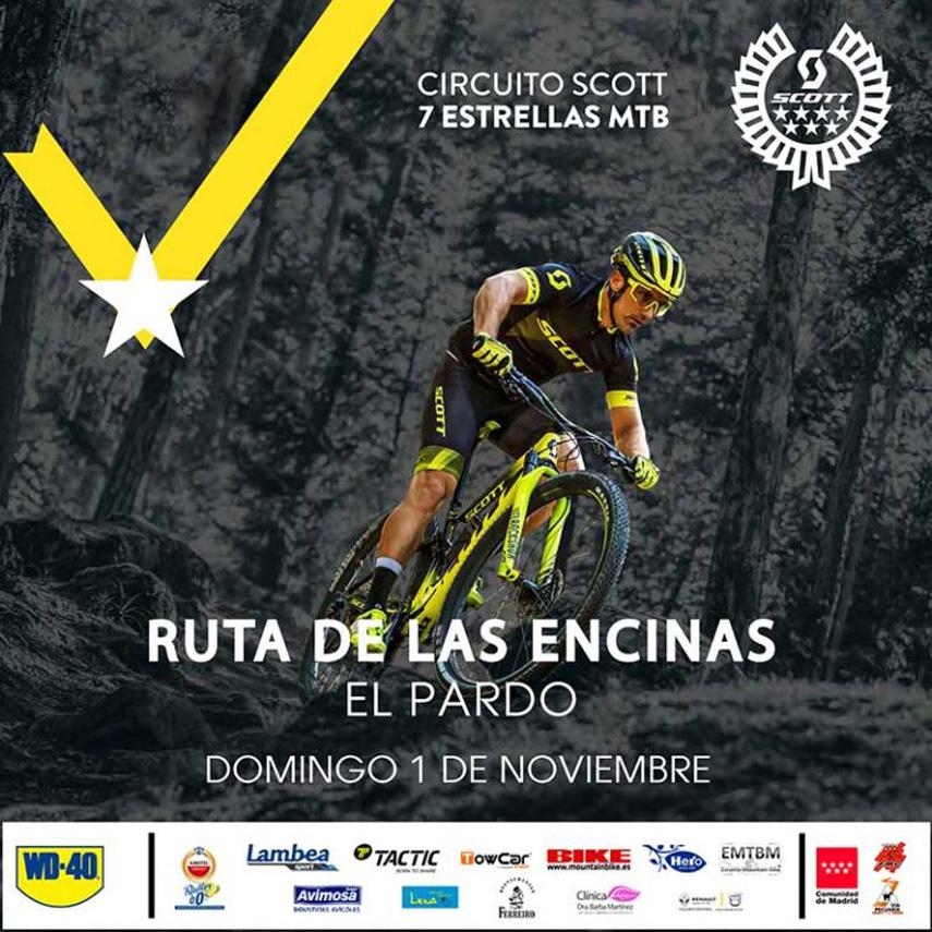El mejor mountain bike con la Ruta de las Encinas este 1 de Noviembre