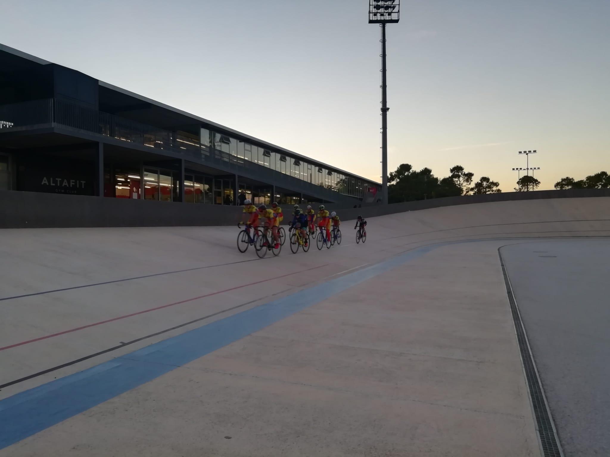 Arrancan los entrenamientos de Pista en el velódromo de San Vicente