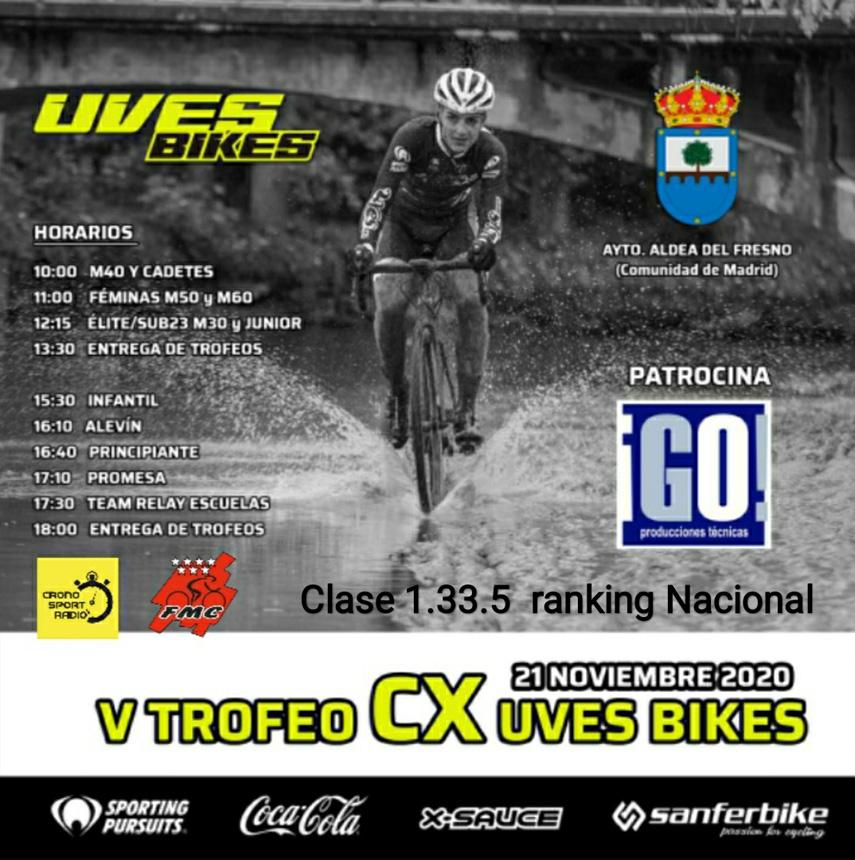Aldea del Fresno inaugura la temporada de ciclocross en la Comunidad de Madrid