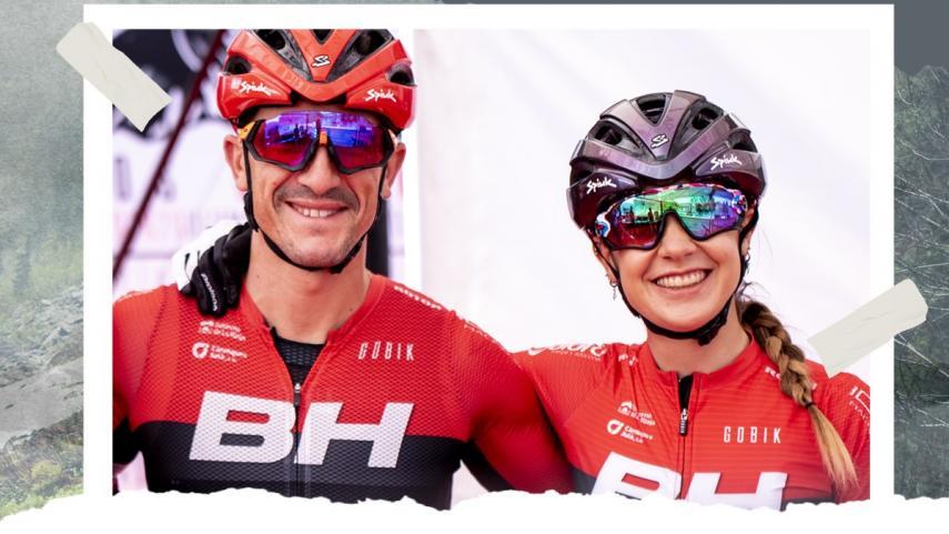 Carlos-Coloma-y-Rocio-del-Alba-promocionan-Ejulve-como-destino-de-bicicleta-de-montana