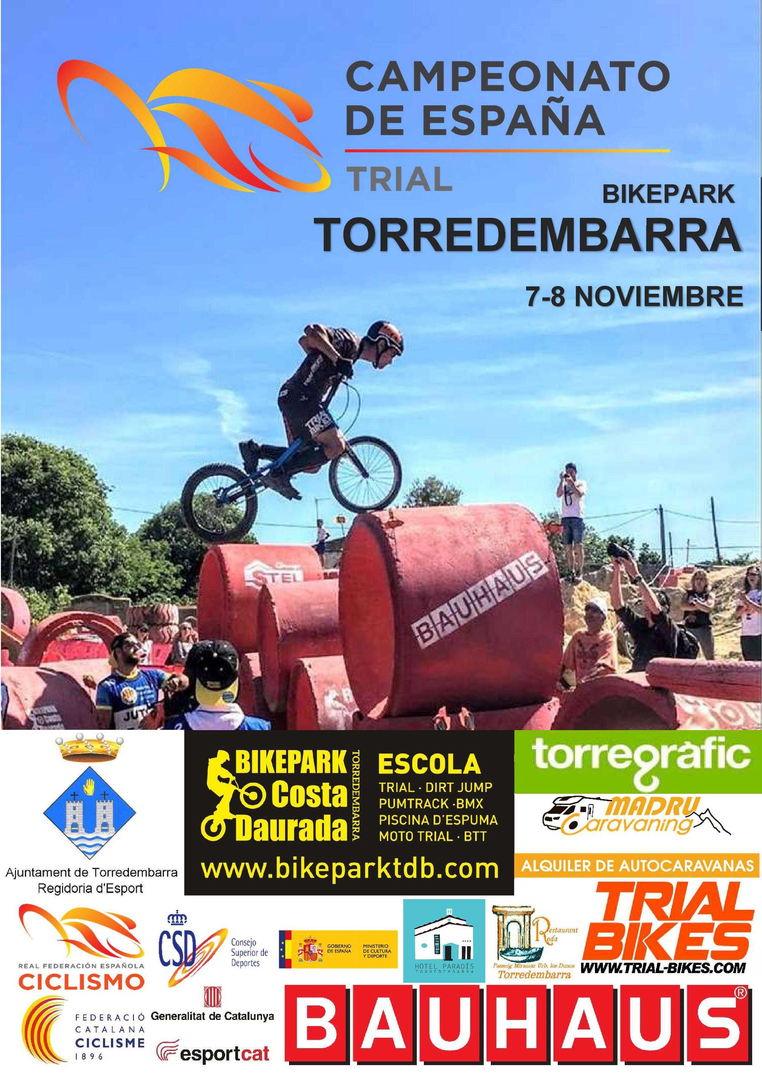 Convocatoria de la Selección Andaluza para el Campeonato de España Trialbici 2020