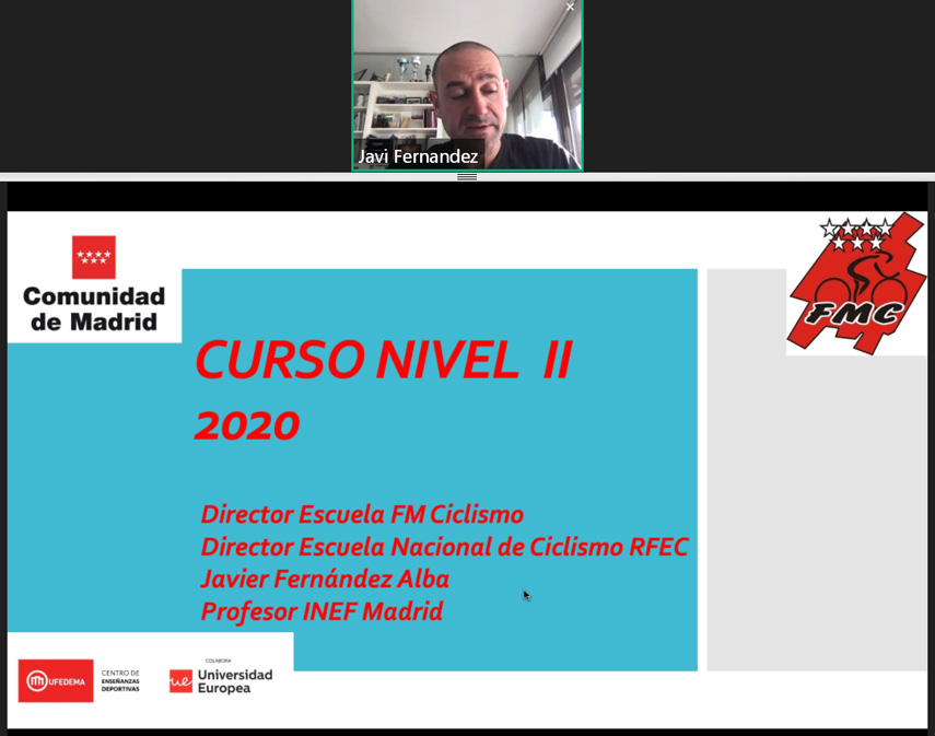 Se inicia el Curso de Director Deportivo Nivel II online organizado por la FMC