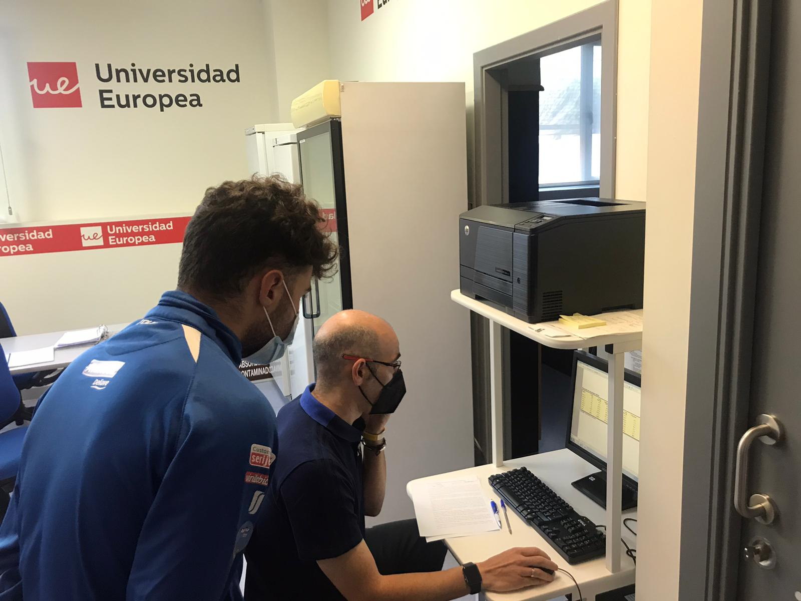 Arrancó la actividad de nuestro Centro de Tecnificación en la Universidad Europea de cara a 2021