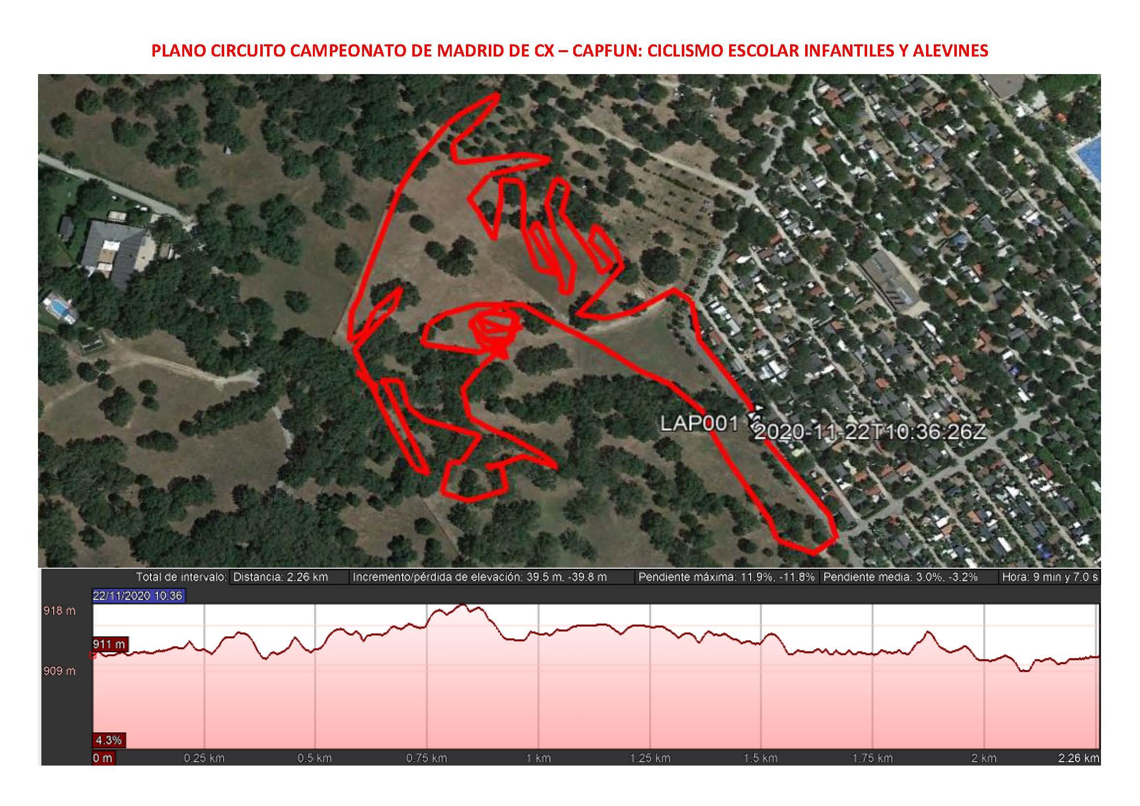 Los Campeonatos de Madrid de ciclocross para Escuelas llegan este domingo 29 de Noviembre